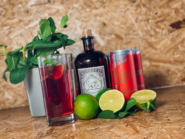 Red Gin Melon Abhol-Box